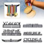 Оригинал              Медаль держатель из нержавеющей стали Вешалка Дисплей стойки украшения для спортсмена