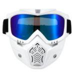 Оригинал              Шлем Face Маска Защитные очки Очки Очки Лобовое стекло для мотоцикл Bike MTB Dirt Bike Riding