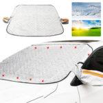 Оригинал              Универсальный 9PCS Магниты Авто Внедорожник Window Snow Cover Антиобледенительный козырек от солнца Авто