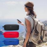 Оригинал              Bakeey Портативный Противоударный Грязный Силиконовый Беспроводная связь Bluetooth Наушник Хранение Чехол с Брелок для QCY T5