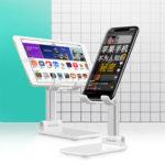 Оригинал              Bakeey Складная алюминиевого сплава Настольный держатель телефона подставка для планшетных iPhone Xiaomi или смартфонами 4.0-7.9 дюйм