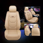 Оригинал              1 шт. Универсальный полный Авто чехол для сиденья искусственная кожа дышащая подушка