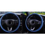 Оригинал              37-39см Кожа Авто Крышки рулевого колеса грузовика Дышащие противоскользящие Удобные