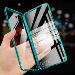 Оригинал              Для Xiaomi Redmi Note 8T Чехол Bakeey Изогнутый на 360 ° экран спереди + сзади Двусторонний полный корпус 9H Закаленное стекло Металл Магнитный Адсорбцио