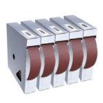 Оригинал              Drillpro 50 метров 150-600 Grit Коробка Шлифование Ремень Рулон для рисования наждачной бумагой Ткань для наждачной бумаги Шлифовальный пакет Рулон