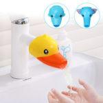 Оригинал              100 мм Ванная комната Детские дети животных игрушки водопроводной воды Faucet Extender