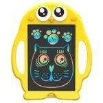 Оригинал              8.5 дюймов Планшетный компьютер для рукописного ввода LCD Kid Drawing Board Yellow