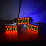 Оригинал              Geekcreit® Multicolor Digital Трубка Многофункциональный DIY Часы Набор с различной подсветкой