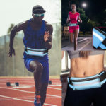 Оригинал              KUULAA Водонепроницаемы Pack Nylon Светоотражающая спортивная талия Сумка Хранение Сумка с отверстием для наушников для Смартфон ниже 6,5-дюймово