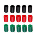 Оригинал              15шт Fishbonne XT60 T Коннектор Защитная заглушка Красный / Зеленый / Черный цвет Резиновая клемма Изолированная защитная крышка Чехол для Lipo Батар