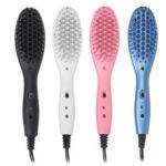 Оригинал              Электрический Керамический Heat Волосы Выпрямление волос Щетка Styler Выпрямитель для волос Гребень Массажер