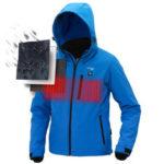 Оригинал              TENGOO USB Электрическая куртка с подогревом Интеллектуальный пуховик Водонепроницаемы Goose Feather