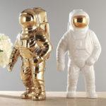 Оригинал              3 цветное Пространство Человек Скульптура Астронавт Модная Ваза Керамический Ваза для цветов Flower Space Man Sculpture Космонавт Домашний офис Декор
