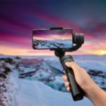 Оригинал              H4 3 Axls Handheld Мобильный телефон с защитой от сотрясений Gimbal Стабилизатор Слежения Замедленная съёмка Фокус управления зумом для действия моб