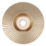 Оригинал              Drillpro 110мм Карбид вольфрама Диск для формовки дерева Резьбовой диск 16мм Шлифовальная машина для шлифования 100 мм Угловая шлифовальная машин