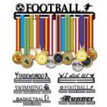 Оригинал              Спортивные вешалки для медалей из нержавеющей стали. Награды Дисплей