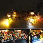 Оригинал              Светодиодное освещение Набор ТОЛЬКО для LEGO 21319 Central Perk Friends Classic Sitcom