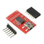 Оригинал              FTDI FT232RL USB 2.0 Seriell Adapter Module 3.3 V 5V TTL Geekcreit для Arduino – продукты, которые работают с официальными платами Arduino