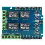 Оригинал              RelayShield5V4-канальныймодульплаты расширения реле OPEN-SMART для Arduino – продукты, которые работают с официальными платами Arduino