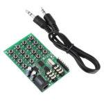 Оригинал              AE11A04 DTMF Модуль Генератора Аудиосигнала Голосовая Плата Передатчика Двойного Кодера для MCU Клавиатура 5 – 24VDC