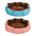 Оригинал              Кошка Собака Кровать для домашних животных Soft Гнездо для щенка Подушка Теплый питомник Дом Коврик Моющийся Одеяло