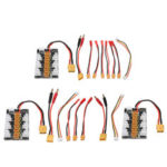Оригинал              XT30 1S-3S Балансировочный штекер Параллельный адаптер платы зарядки 0/3/6 JST Кабель Anticreep