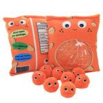 Оригинал              Оранжевый Cheesy Фаршированные Плюшевые Soft Puffs Dolls Игрушка для подарка ребенку