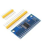 Оригинал              5шт Smart Electronics CD74HC4067 16-канальный аналоговый цифровой мультиплексор PCB Board Module Geekcreit для Arduino – продукты, которые работают с официальными плата