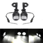 Оригинал              2шт Spot LED Вспомогательный Противотуманные Фары Вождения Лампа мотоцикл Для BMW R1200GS F800GS
