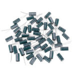 Оригинал              50 шт. 6.3 В 2200 мкФ 10×20 ММ Высокочастотный Низкий ЭПР Радиальный Электролитический Конденсатор