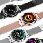 Оригинал              Bakeey H6 + Full Round HD Браслет с экраном Сердце Оценить артериальное давление Монитор С длительным временем ожидания Smart Watch