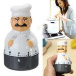 Оригинал              Кухонный таймер Аналоговая сигнализация Часы Гаджет Белл 60 минут для шеф-повара Приготовление пищи