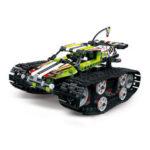 Оригинал              Mold King DIY Smart RC Robot Авто Программируемый блок Building Bluetooth APP / 2.4G Палка Управляемый собранный робот Авто Игрушка
