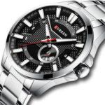 Оригинал              CURREN8372КалендарьСветовойДисплейМужские наручные часы