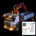 Оригинал              Светодиодное освещение Набор ТОЛЬКО для LEGO 42043 Техника для Mercedes-Benz Arocs 3245