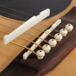 Оригинал              Седло и гайка Debbie XZ-A1 Buffalo Bone Bridge для акустической гитары
