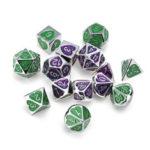 Оригинал              7PCS Металлические многогранные кубики для Dungeons & Dragons Dice Desktop RPG Game