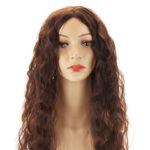 Оригинал              Свободные глубокие кружева перед человеком Волосы парики бразильские Волосы парики