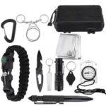 Оригинал              Многофункциональное оборудование SOS Emergency Кемпинг Набор На открытом воздухе Тактический походный снаряжение Multi Набор