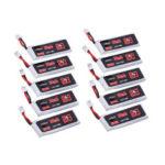 Оригинал              10 шт. URUAV 3,8 В 300 мАч 80C / 160C 1S Lipo Батарея PH2.0 Разъем для Eachine TRASHCAN