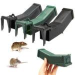Оригинал              Многоразовая пластиковая мышеловка, не убивающая мышеловку Поймать приманку Захватить гуманных мышей Грызун Клетка хомяка Борьба с вреди