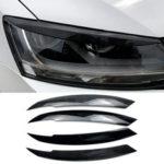 Оригинал              Автомобильная фара Eyelid Бровей Накладка для VW Jetta MK6 Sagitar NCS 2010-2018