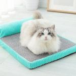 Оригинал              Memory Cotton Кот Кровать Pet Pet Съемный и моющийся питомник Средний Большой Собака Кот Кровать Собака Гнездо