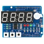 Оригинал              ClockShieldRTCDS1307МодульМногофункциональная плата расширения с 4-значным Дисплей Light Датчик и термистором OPEN-SMART для Arduino – продукт