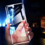 Оригинал              Bakeey Crystal Clear Прозрачный Не желтый Противоударный Soft ТПУ Защитный Чехол для Samsung Galaxy A71 2019
