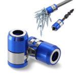 Оригинал              Drillpro 6,35 мм Отвертка Бит Магнитное кольцо Металл Сильный намагничиватель Болт