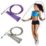 Оригинал              Трос стальной Speed Провод Пропуск Регулируемый Веревка Пропуск Фитнес Спортивные упражнения Кардио Веревка Прыжки