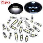 Оригинал                21шт белый интерьер LED Авто лампы накаливания Набор для BMW 5 серии M5 E60 E61 (04-10)