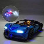 Оригинал              DIY USB Светодиодный Освещение Набор ТОЛЬКО ДЛЯ LEGO 42083 Bugatti Chiron Technicy Кирпичи Игрушки
