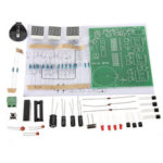 Оригинал              DIY Набор Модуль 9V-12V AT89C2051 6 Цифровой LED Электронный Часы Компоненты запасных частей